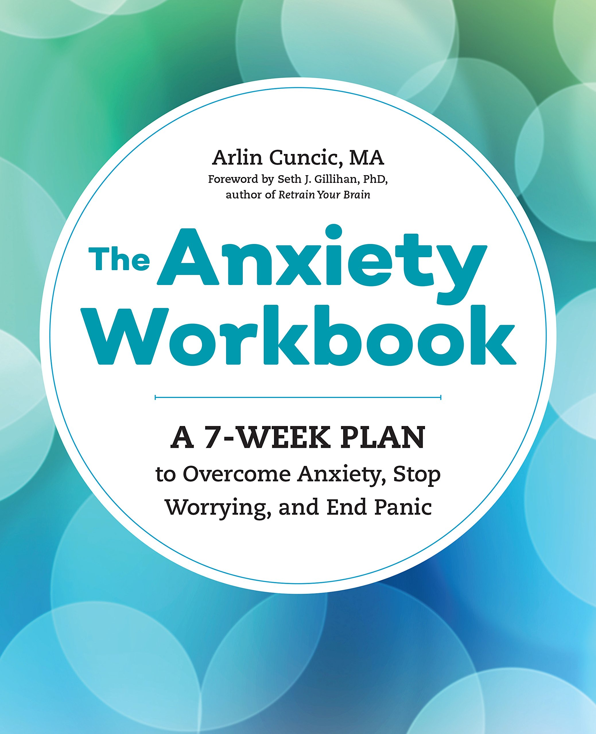 Anxiety Workbook 7 Week Overcome Worrying product image
