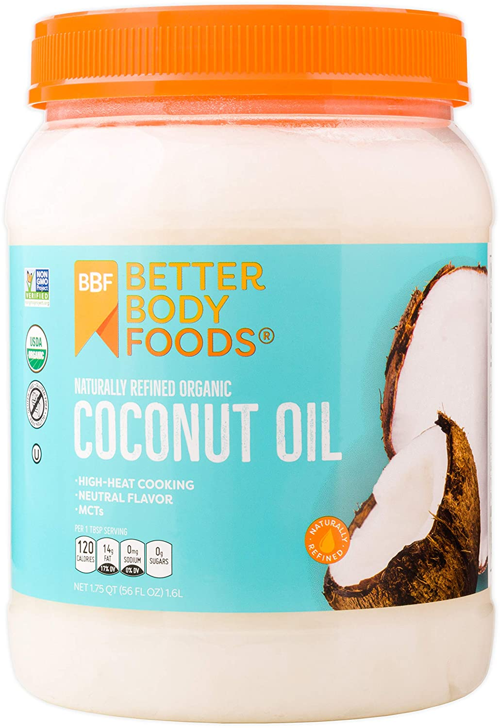 Better Body Foods coconut oil. Do visit these 23 Smart Quarantine Pantry Supplies for Social Isolation I Ordered. #quarantinesupplies #pantryitems #nonperishables