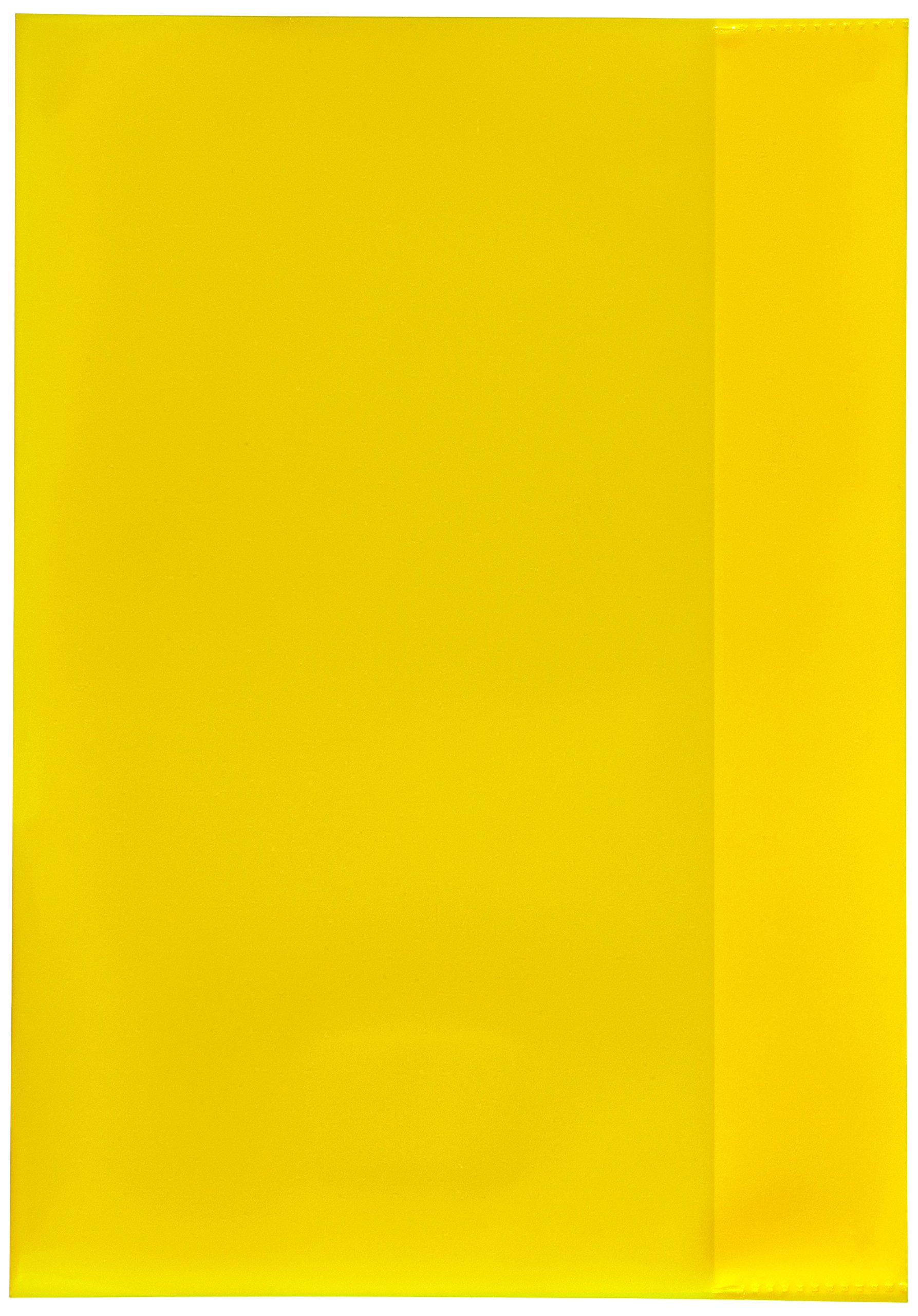 Herlitz 5214010,Book Cover A4,Pack of 25,Yellow a4 Yellow