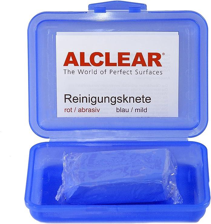 Alclear 721b Reinigungsknete Auto Lackreinigung Clay Bar Blau 200g Auto