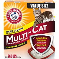 Arm & Hammer Multi-Cat Litter, 26.3 Lbs (Packaging May Vary)