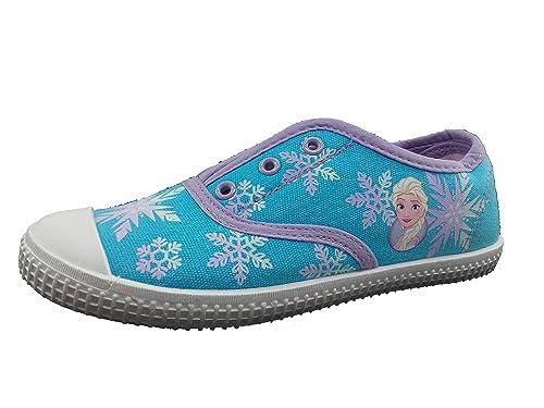 Zapatilla Disney Frozen - Casual Lona Niña (30)