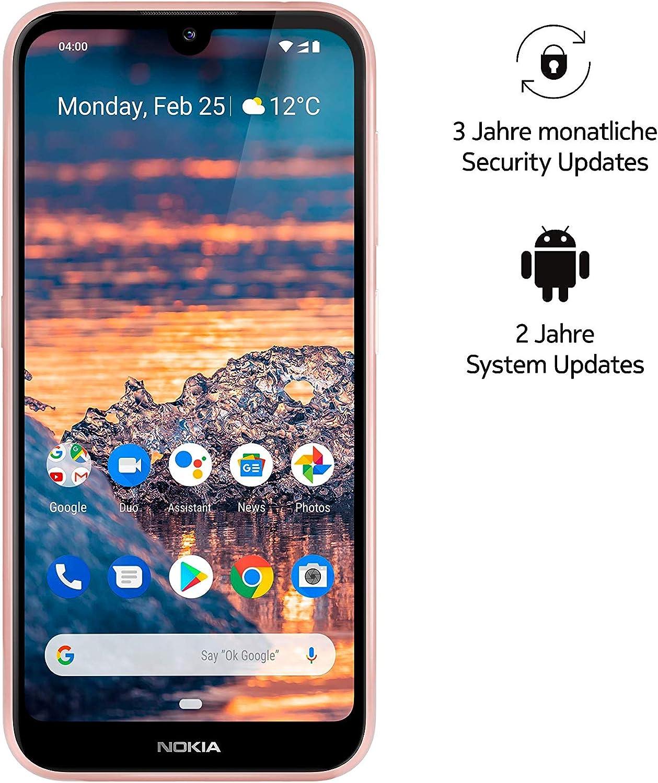 Nokia 4.2 Dual SIM - Smartphone (14,5 cm (5,71 Pulgadas), cámara Principal de 13 MP, 3 GB de RAM, 32 GB de Memoria Interna, Android 9 Pie), Color Rosa (Pink Sand): Amazon.es: Electrónica