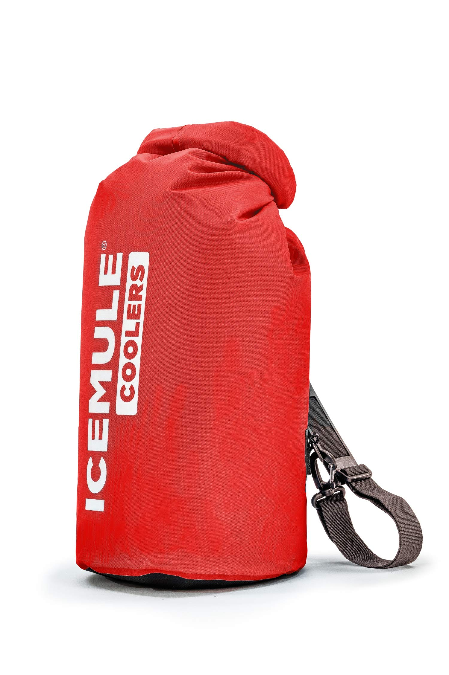 IceMule Classic Insulated Backpack Cooler Bag - Hands-Free, Collapsible, and Waterproof, This Portable Cooler is an Ideal Sling Backpack for Hiking, The Beach, Picnics and Camping-Small, Crimson by IceMule