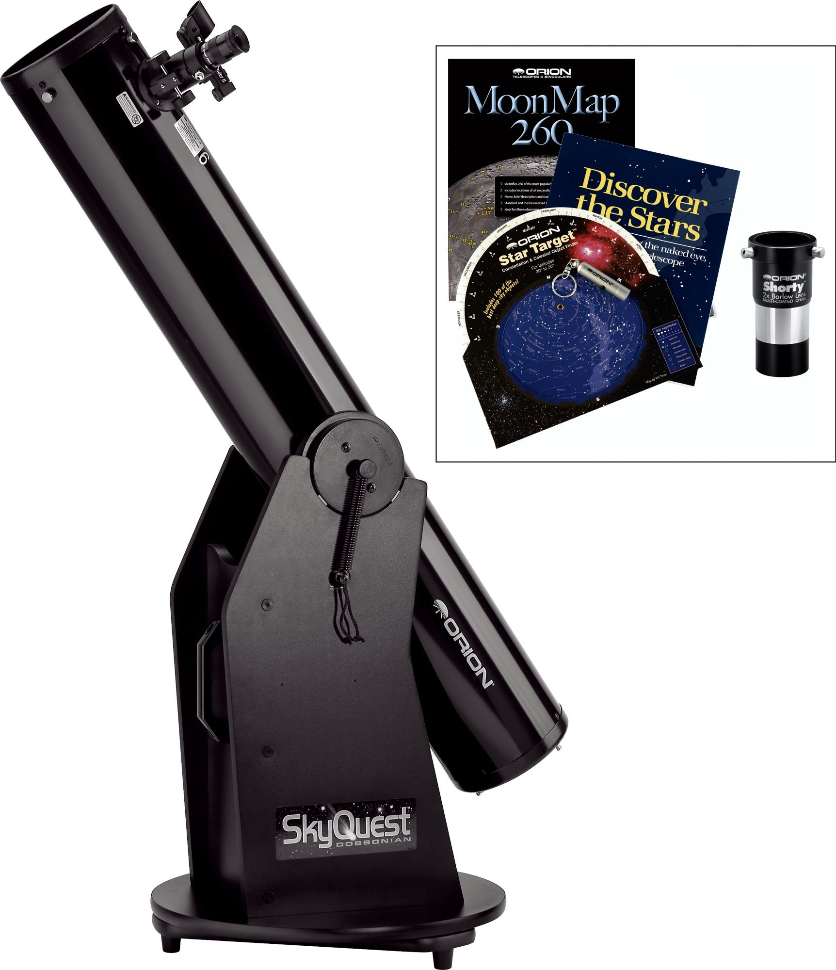 Orion 27193 XT6 Classic Dobsonian Telescope and Beginner Barlow Kit by Orion