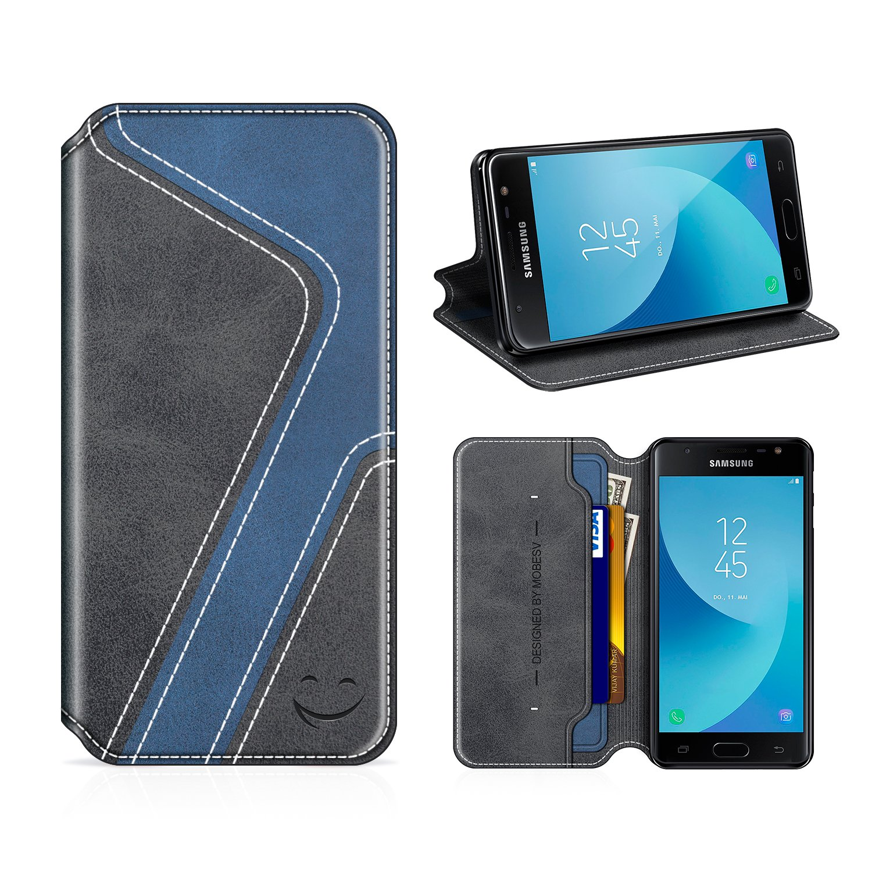 premium selection 9282b 555bb Amazon.com: Smiley Samsung Galaxy J5 Pro Wallet Case, Mobesv Samsung ...