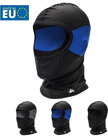 Sci Stonges 6-in-1 Passamontagna Versatile Sport allAria Aperta Maschera a Pieno facciale Inverno Caldo Cappuccio Cappello Maschera da Sci per Ciclismo Motociclismo