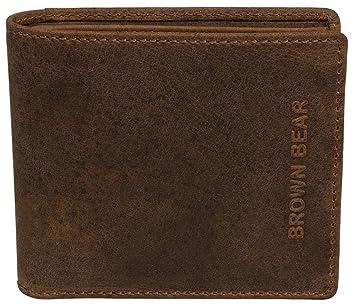 Brown Bear - Cartera para hombre unisex Hombre, marrón (marrón) - BB BHL 0552 br: Amazon.es: Equipaje