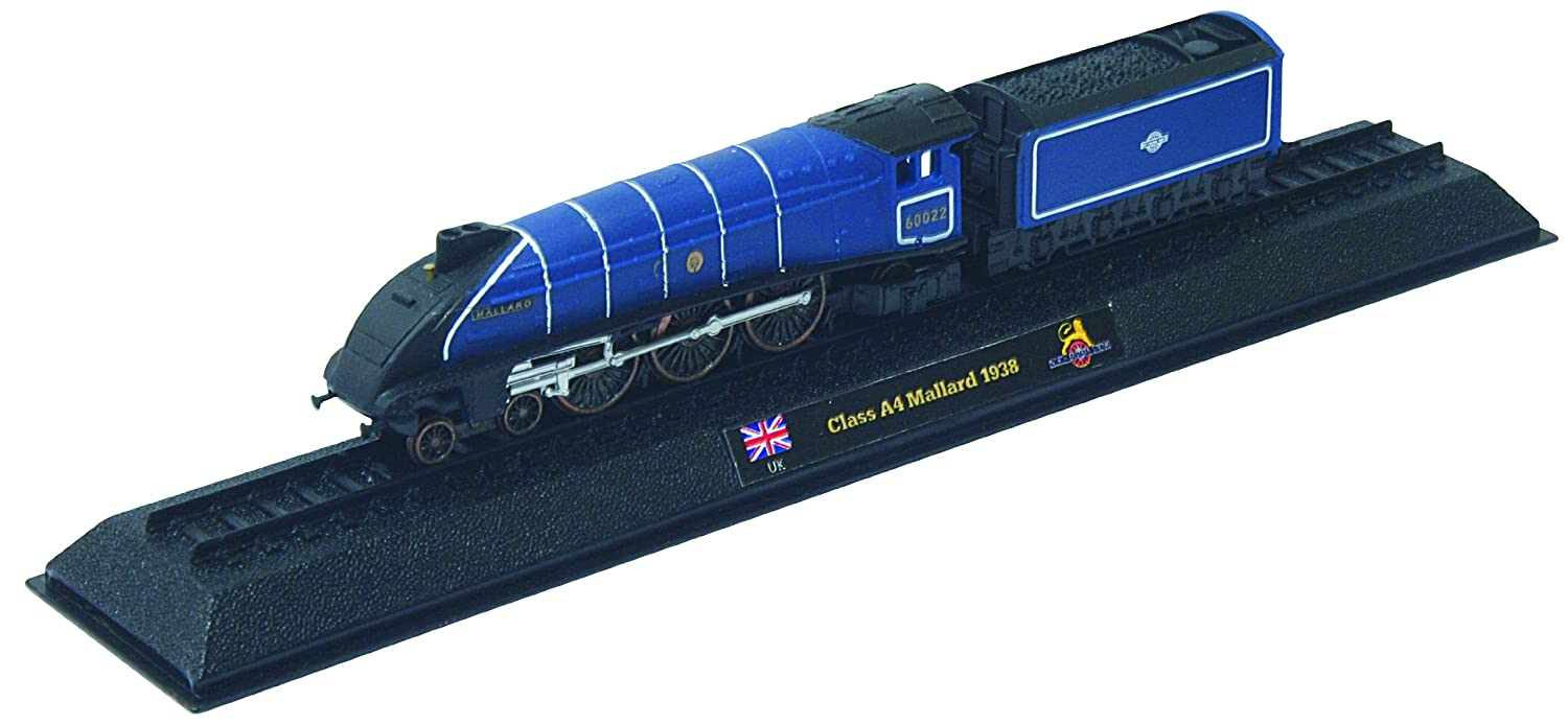 Class A4 Mallard - 1938 diecast 1:160 scale locomotive model (Amercom LN-4)