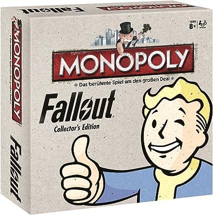 Fallout - Juego de Tablero Monopoly (44260): Amazon.es: Juguetes y juegos