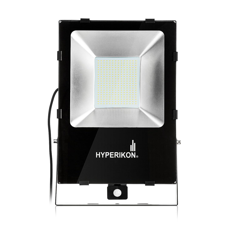 Hyperikon LED Motion Sensor Light, 1000 Watt Replacement 200W , Outdoor Flood Light, 5000k Bright White, IP65 Waterproof Security Light