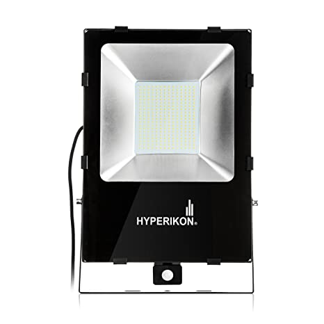 Hyperikon Outdoor 200W LED Flood Light with Motion Sensor (1000W  Equivalent) 20000 Lumens 1886dad0ce