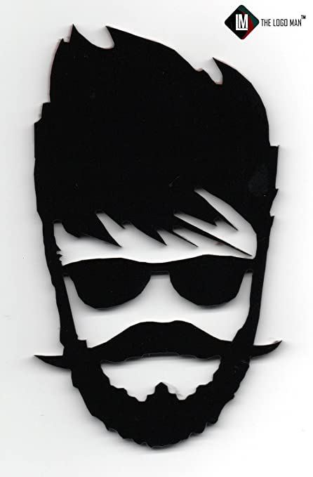 Best Beard Man Sticker For Car