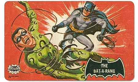 Retro Batman Logo Breakfast Cutting Board