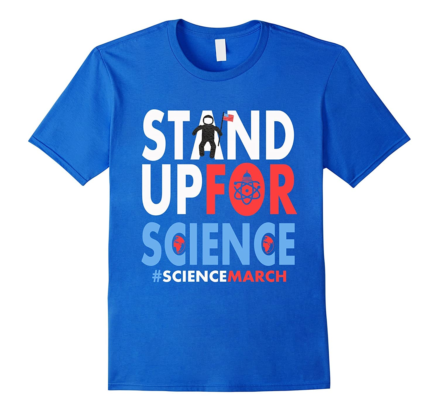 Science March Shirt - Science Not Silence 2017 t shirt-CD