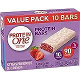 Protein One 90 Calorie Protein Bar, Strawberries & Cream, 9.6 oz