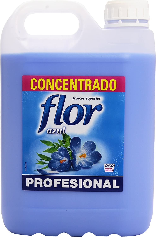 TALLA 2 unidades. Flor Azul Profesional Suavizante Concentrado - 5 kg, 2 unidades