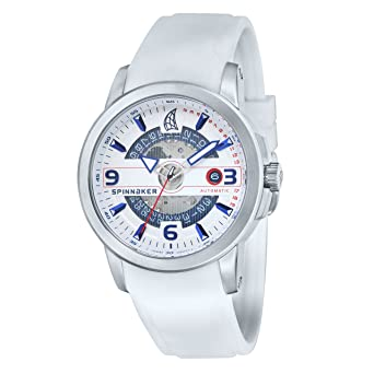 Uhr Mit Silikon Armband Herren Automatik Spinnaker Klassisch Datum XuOkiPZ