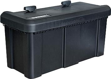 Deichselbox Mit 2 Schlösser Inkl Edelstahlhaus Halter Werkzeugkasten Für Anhänger Staukiste 23 Ltr Anhängerbox Daken B23 2 Mon4002 Baumarkt