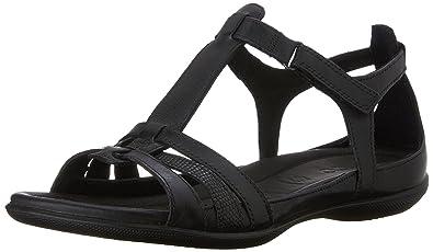 fa42dc4abd493 ECCO Womens Flash T-Strap Gladiator Sandal,