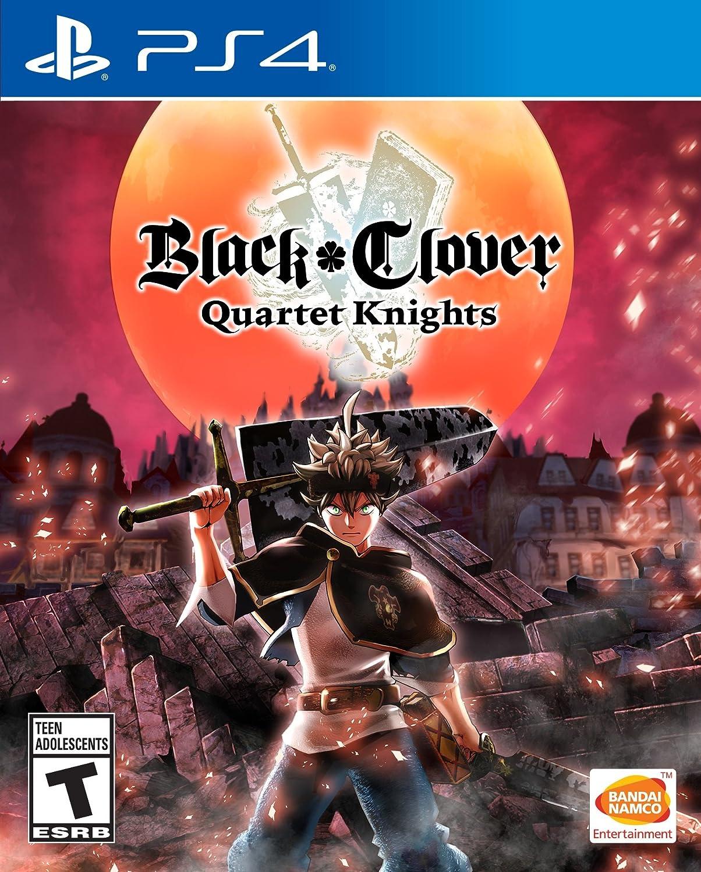 Black Clover Quartet Knights Playstation 4 Bandai Ps4 Naruto To Boruto Shinobi Striker Deluxe Edition Region 3 English Namco Games Amer Video