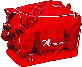 Asioka 100/10Sac de Sport, Rouge, M