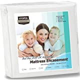Amazon Price History for:Utopia Bedding Waterproof Zippered Mattress Encasement Cover - Bed Bug Proof, Vinyl Safe and Hypoallergenic Protection (Full)