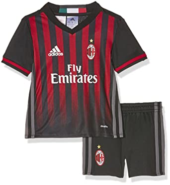 super popular e8ddc e4989 adidas ACM H MINI - 1st Football kit Outfit of AC Milan 2015 ...
