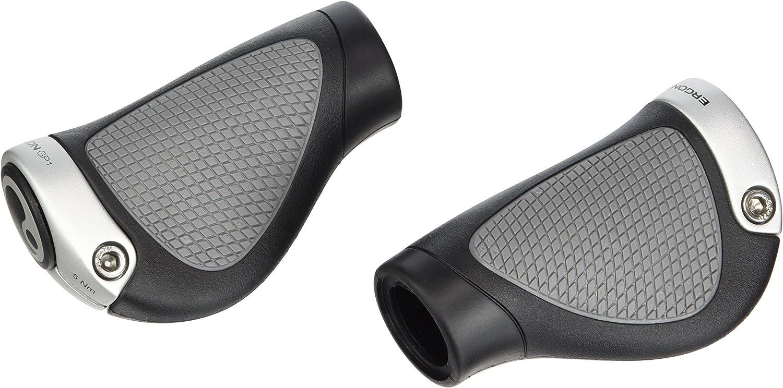 New Ergon GP2-L Large GripShift Grips Black//Grey