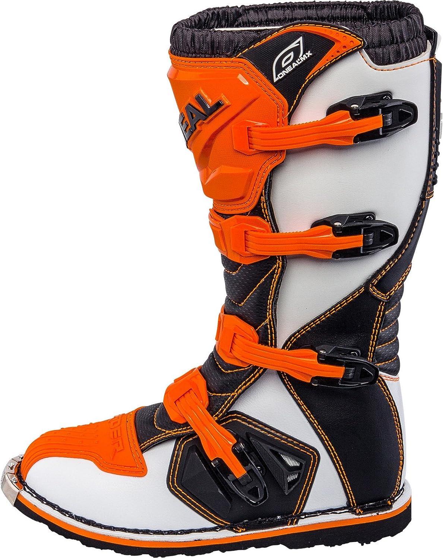 0329/ /3 O Neal Rider Boot MX Cross Botas Naranja Motocross Motocicleta Enduro