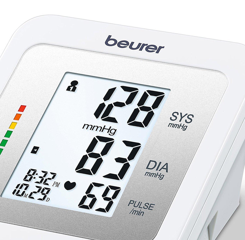 Beurer BM 26 Tensiometro de brazo OMS con Memoria para 4 usuarios + Termometro digital de regalo: Amazon.es: Salud y cuidado personal