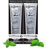 Dr. Sheffield's Certified Natural Toothpaste (Extra-Whitening) - Great Tasting, Fluoride Free Toothpaste/Freshen Your Breath,