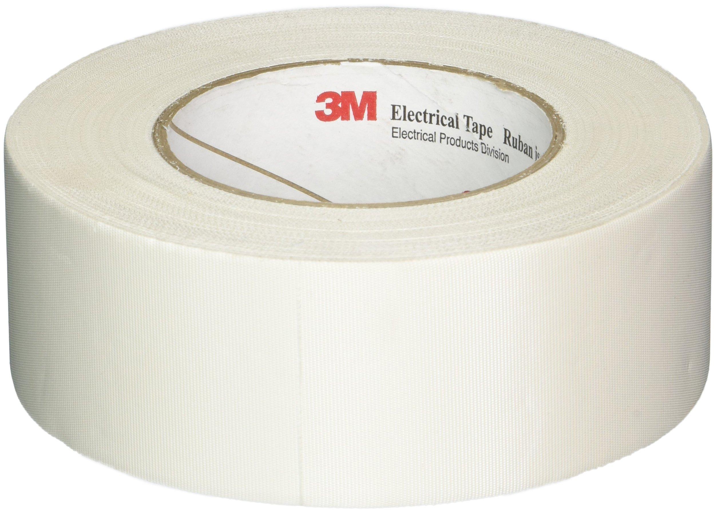 3M 27 Cloth Electrical Tape, 2'' Width x 60yd Length (1 roll)