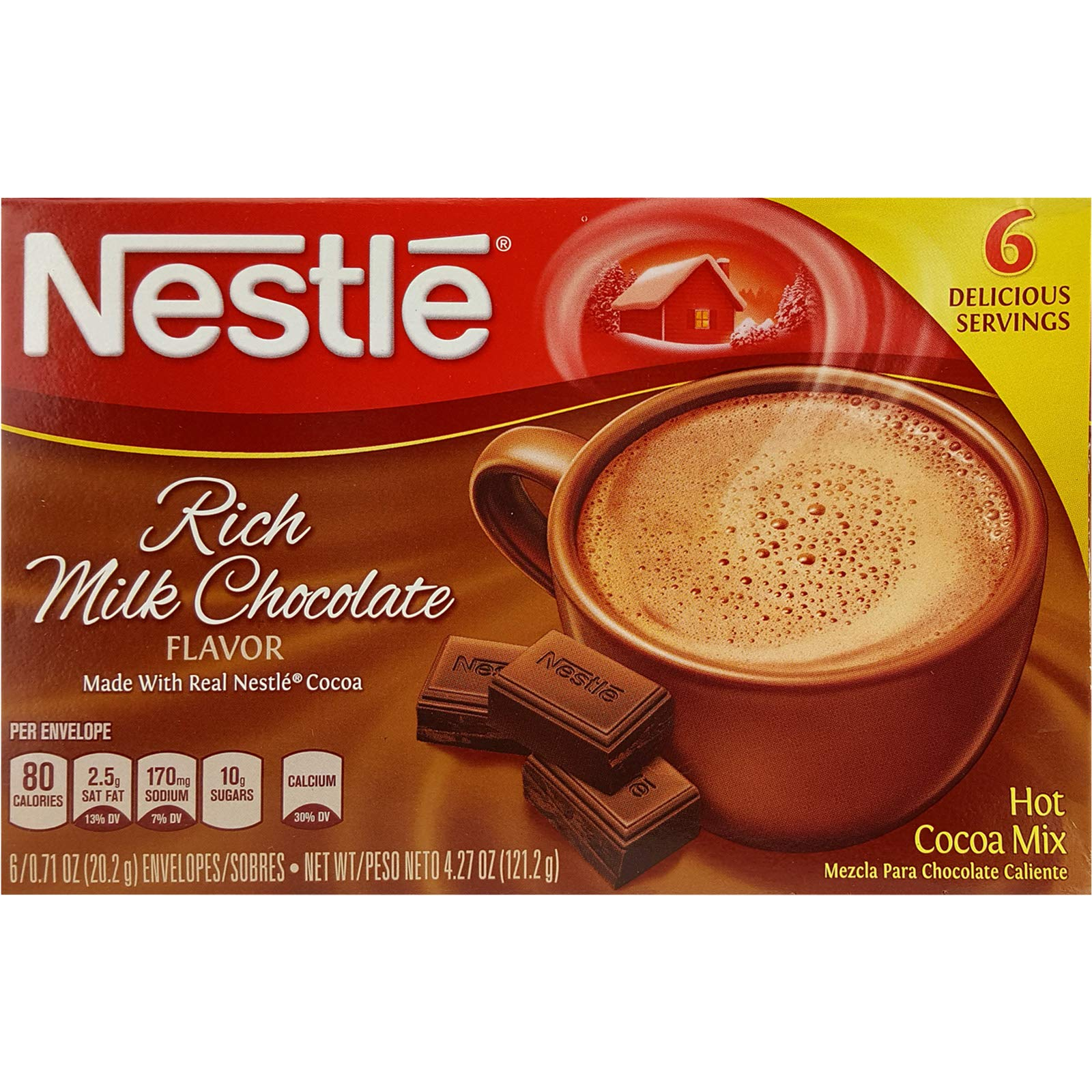 CDM product (Pack of 24, 144 Ct) Nestle Hot Cocoa Rich Chocolate big image