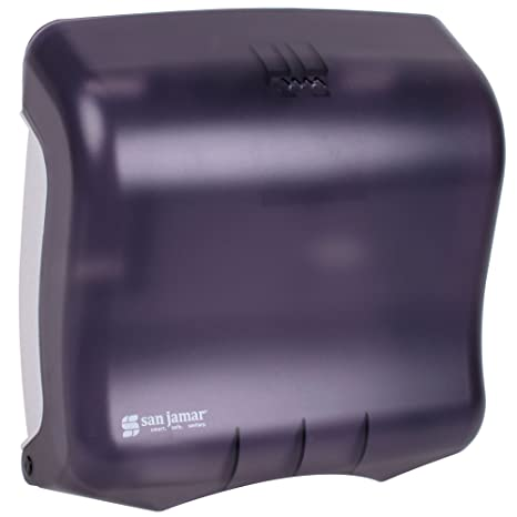 San Jamar t1750tbk Ultrafold C-fold y Multi-Fold Dispensador de toalla, color