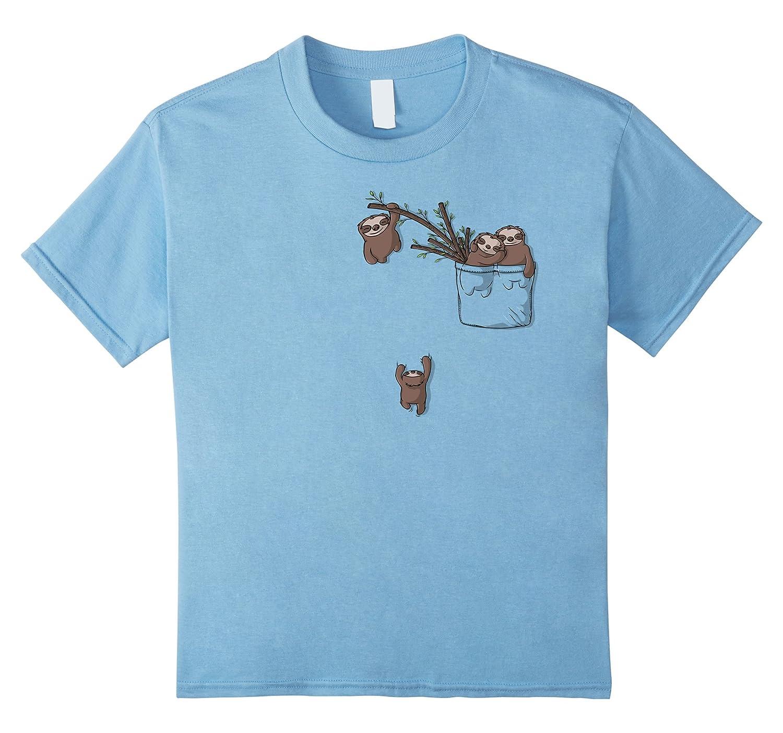 Mens T Shirt Family Playing Pocket-Tovacu