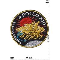 Patches - Apollo 13 - Apollo XIII - NASA - Space - Patches - Applique embroidery Écusson brodé Costume Cadeau- Give Away