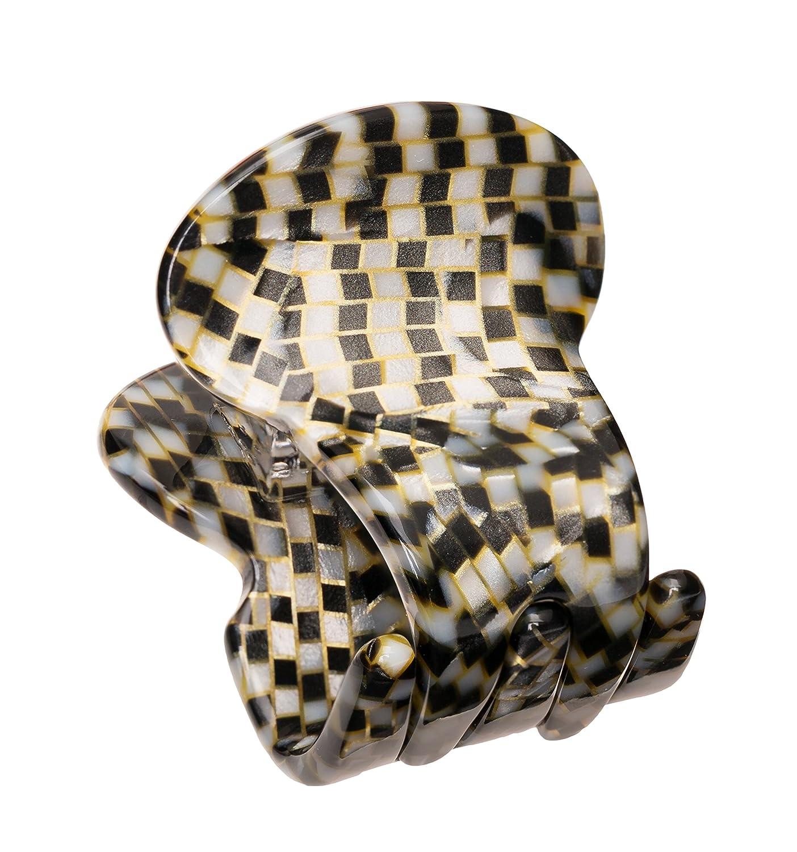 France Luxe Mini Oval Jaw - Tortoise Fance Luxe