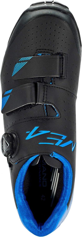 Shimano ME4 SPD Chaussures Noir//Bleu Taille 46