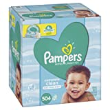 Amazon Price History for:Pampers Baby Wipes Complete Clean Scented 7X Pop-Top Packs, 504 Count