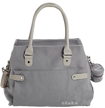 Amazon.com: Beaba Stockholm – Bolso cambiador, color gris: Baby