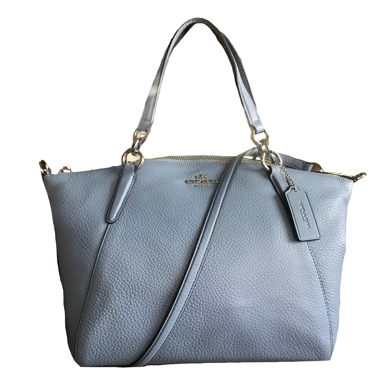 0e963f01c2a60 Coach Leather Small Kelsey Cross Body Bag (Dusk)