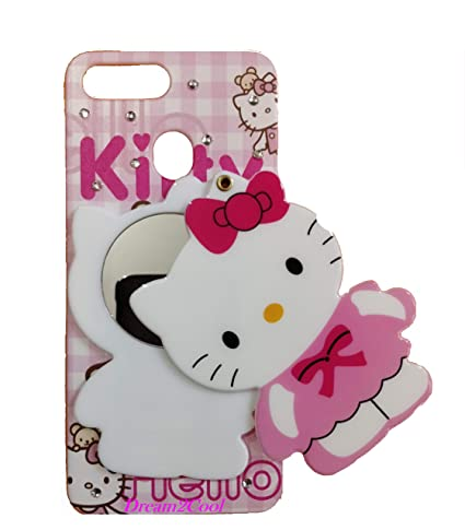 4ce955e5d Aarnik Mirror Soft Kitty Girls Back Cover for Realme 2: Amazon.in:  Electronics