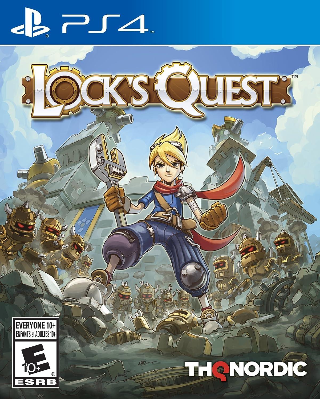Amazon com: Lock's Quest - PlayStation 4: Thq Nordic: Video