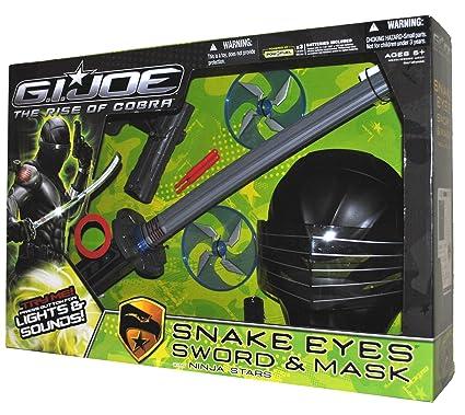 Amazon.com: G.I. Joe Rise Of Cobra Snake Eyes – Espada ...