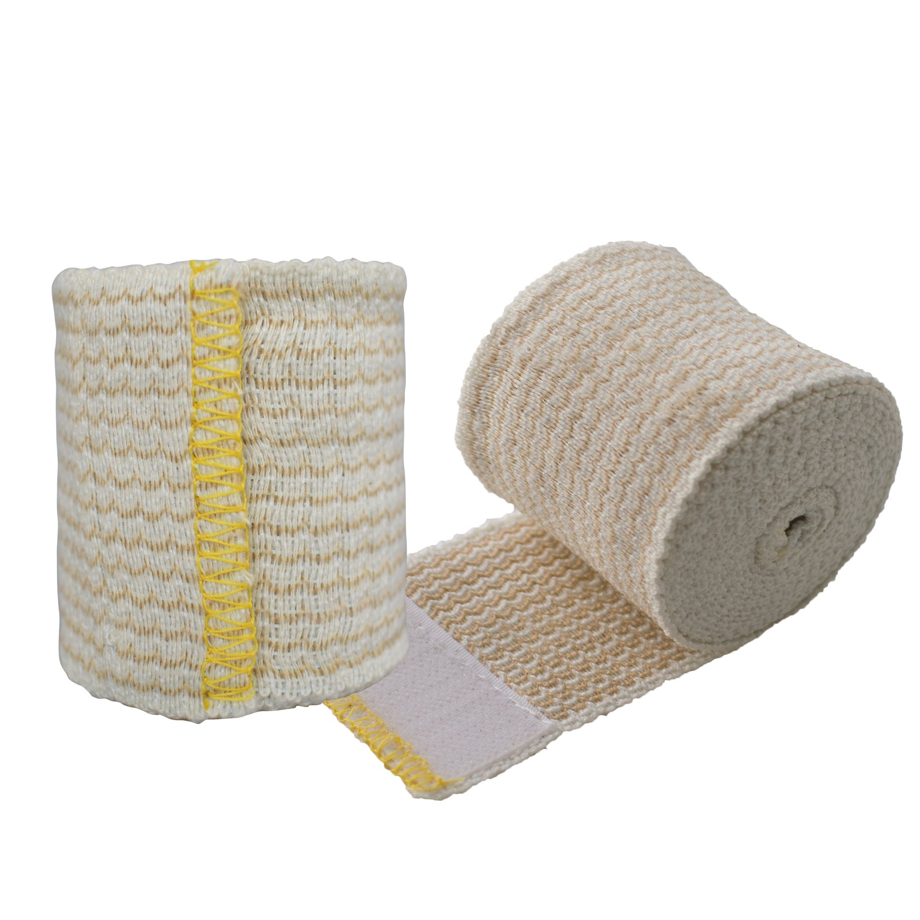 Nexskin Forever American Cotton Elastic Bandage Wrap with Hook and Loop Closure, 2'' Width (2 Pack)