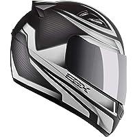 Capacete Ebf E0X Frost 56/Preto Fosco/Prata