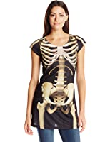 Faux Real Women's Skeleton Dress