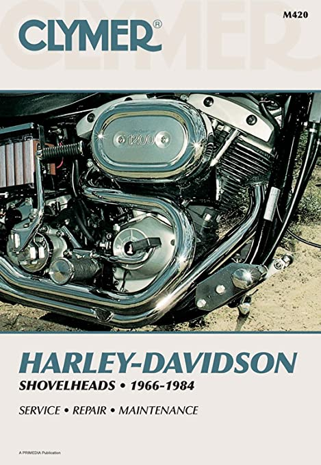 amazon com clymer repair manual for harley shovelhead 66 84 automotive rh amazon com harley davidson shovelhead repair manual Harley Shovelhead Engine