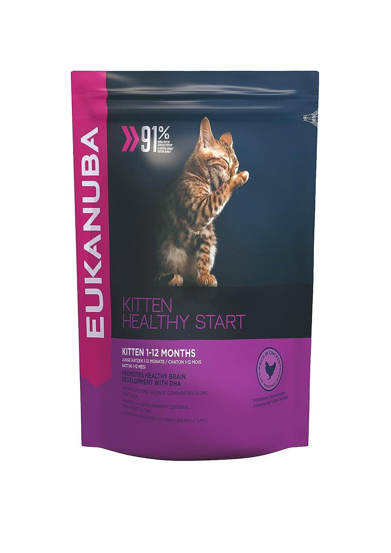 EUKANUBA Kitten Healthy Start Rich in Chicken 2 Kg: Amazon.es: Productos para mascotas